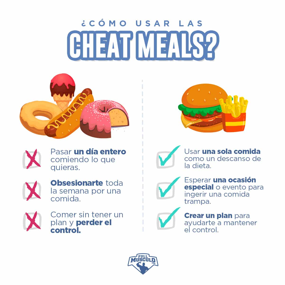 cheat meal o comida trampa