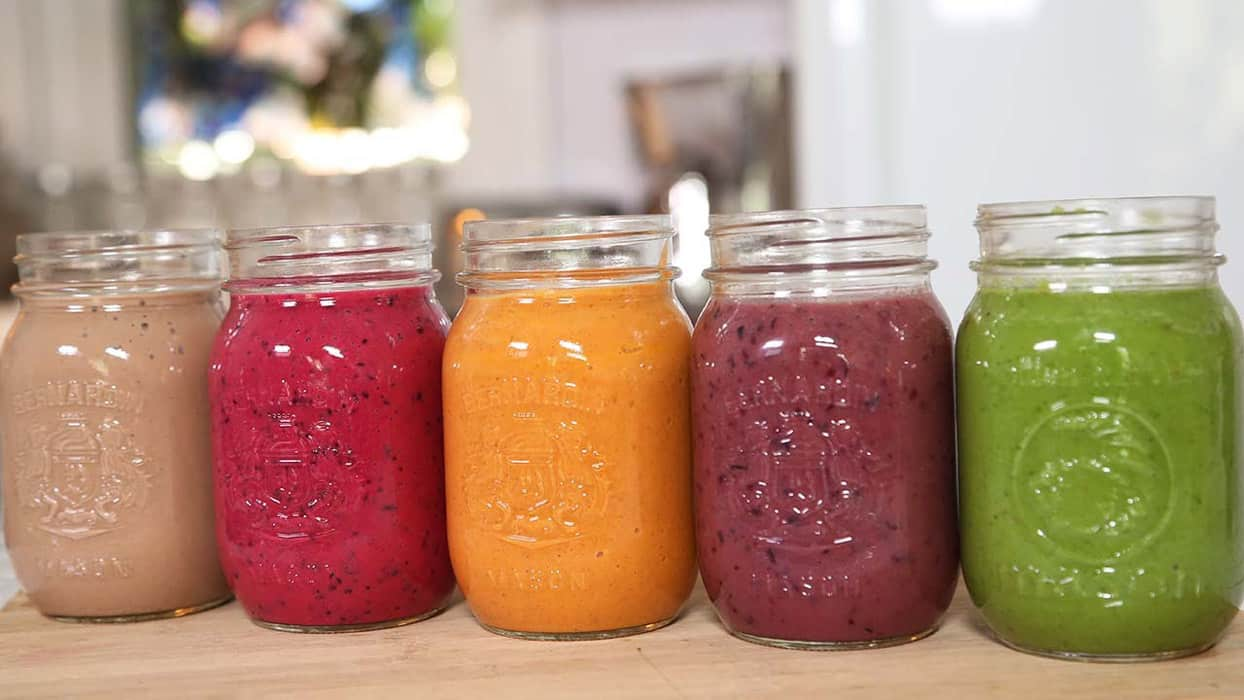 smoothies o batidos saludables