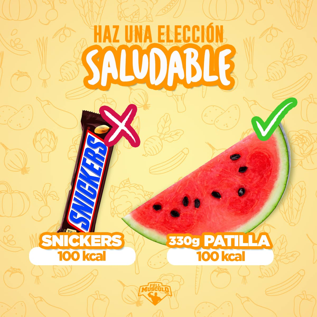eleccion saludable snack