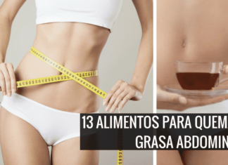 alimentos para quemar grasa abdominal