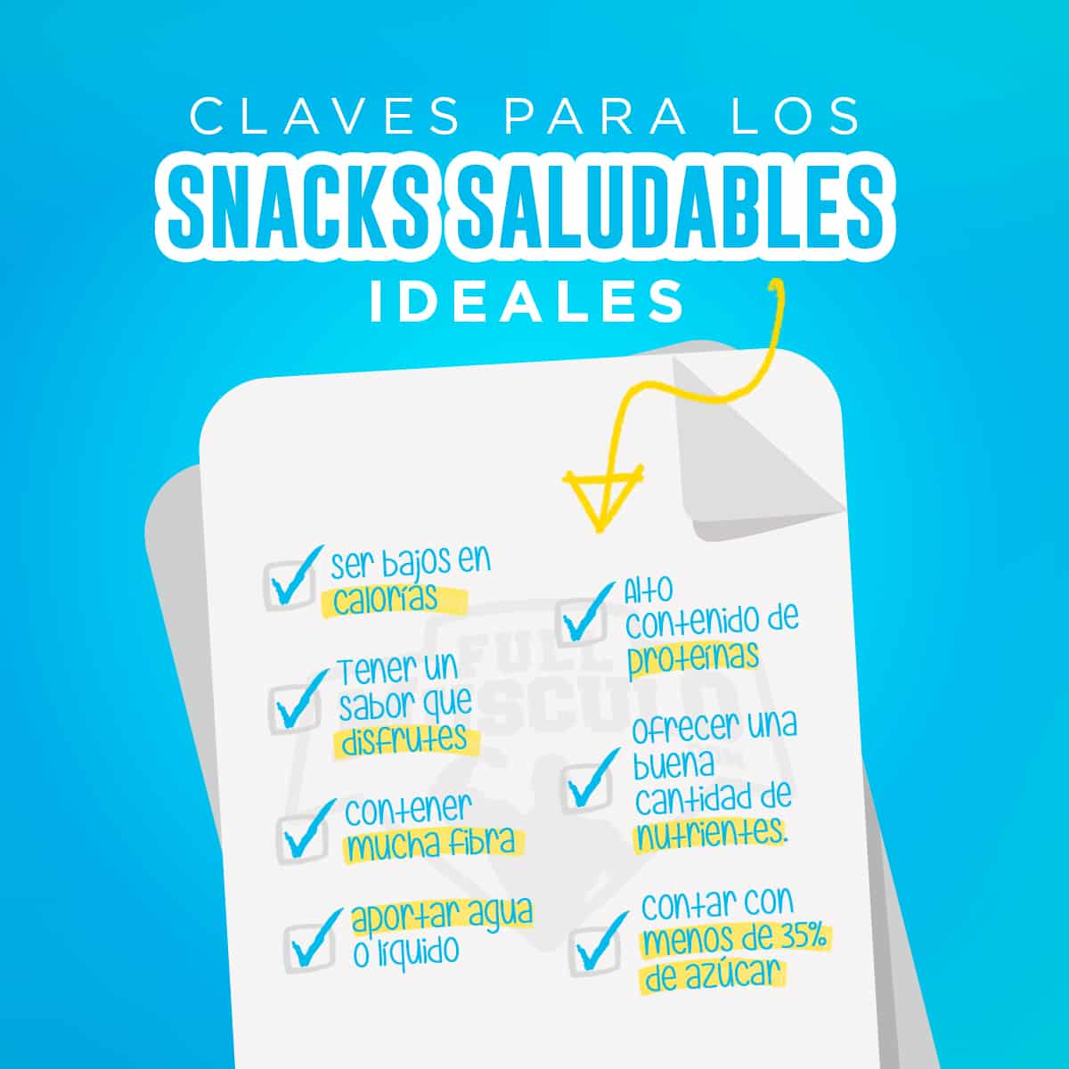 Claves para unos snacks saludables